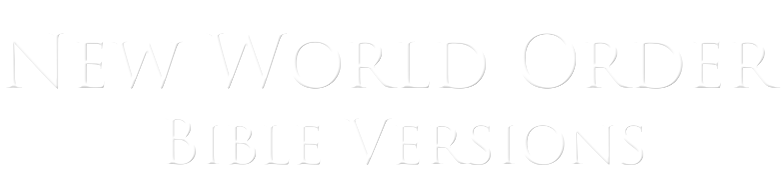 newworldorderbibleversionslogo